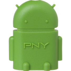 PNY OTG USB-microUSB reader Android, green (OTG-A2G-EF)