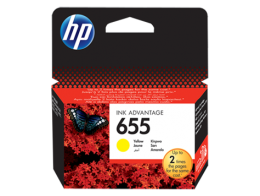Картридж HP 655 желтый (CZ112AE) для Deskjet Ink Advantage 3525/4615/4625/5525/6525 (600 стр)